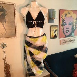 Bailey44 asymmetrical Skirt